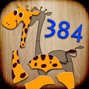384 Puzzles For Preschool Kids иконка