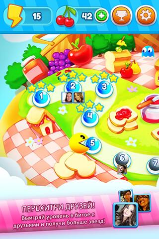 Pac-Man: Bounce скриншот 4