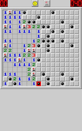 Minesweeper Classic скриншот 1