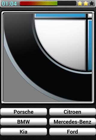 Cars Logos Quiz HD скриншот 4