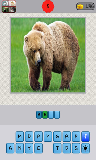 Animals Quiz скриншот 1