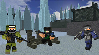 Cube Wars: Battlefield Survival скриншот 1