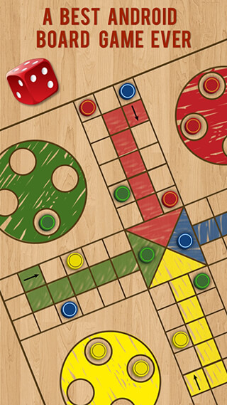Ludo Parchis Classic Woodboard скриншот 2