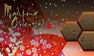 Mahjong Oriental скриншот 1