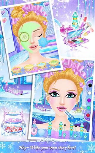 Princess Salon: Frozen Party скриншот 3