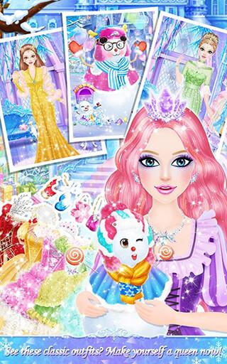 Princess Salon: Frozen Party скриншот 4