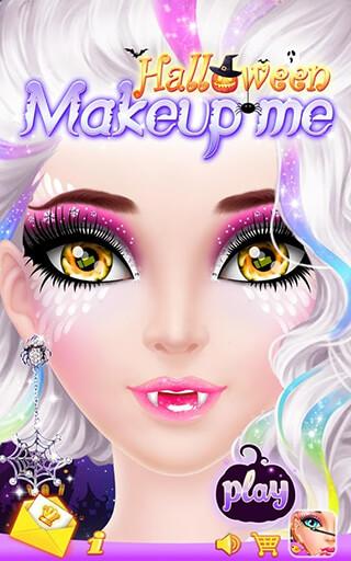 Halloween: Make-Up Me скриншот 1
