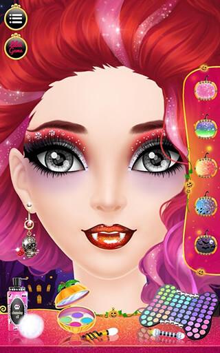 Halloween: Make-Up Me скриншот 2
