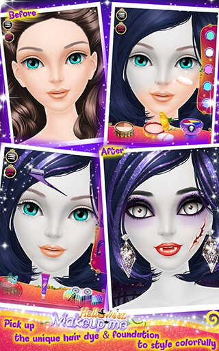 Halloween: Make-Up Me скриншот 3