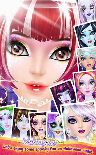 Halloween: Make-Up Me скриншот 4