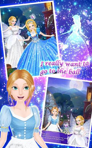Princess Salon: Cinderella скриншот 2