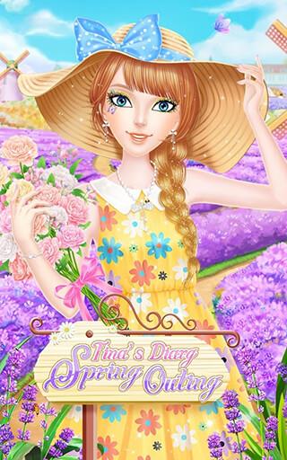 Tina's Diary: Spring Outing скриншот 1