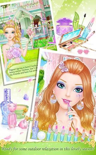 Tina's Diary: Spring Outing скриншот 2