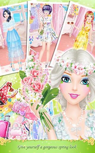Tina's Diary: Spring Outing скриншот 3