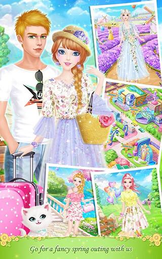 Tina's Diary: Spring Outing скриншот 4