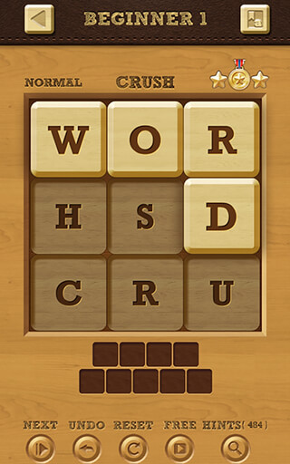 Words Crush: Hidden Words скриншот 1