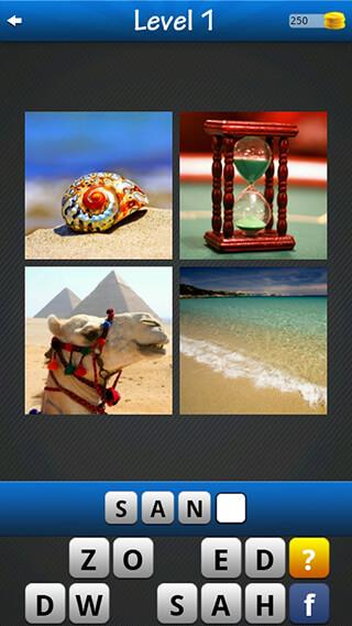 Word Game: 4 Pics 1 Word скриншот 1
