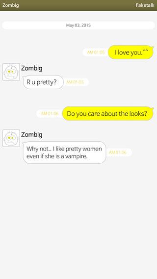 Faketalk Chatbot скриншот 1