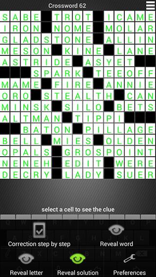 Crossword: Puzzle Free скриншот 1