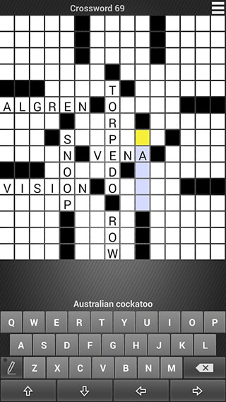 Crossword: Puzzle Free скриншот 3