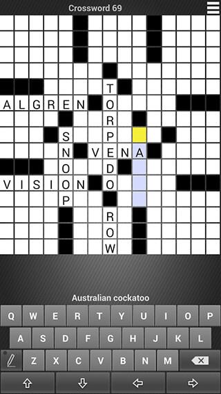 Crossword: Puzzle Free скриншот 3