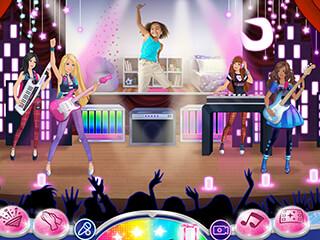Barbie Superstar: Music Maker скриншот 2