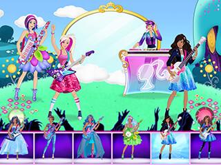 Barbie Superstar: Music Maker скриншот 3
