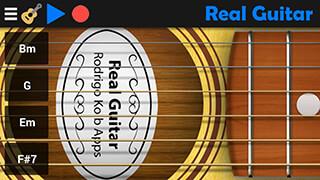 Real Guitar скриншот 1