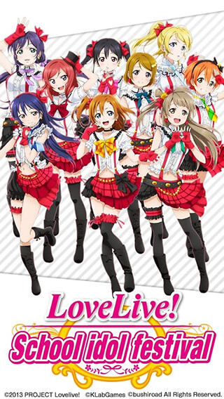 Love Live School: Idol Festival скриншот 1