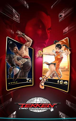 Tekken Card Tournament скриншот 1