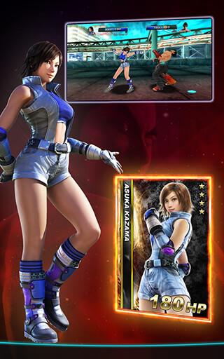Tekken Card Tournament скриншот 4