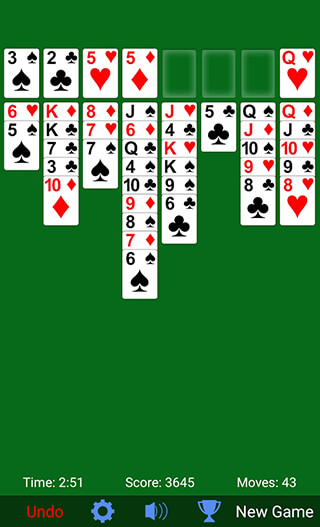 Freecell Solitaire скриншот 4