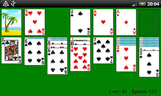 Classic Solitaire скриншот 4