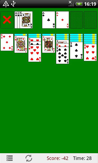 Classic Solitaire скриншот 2