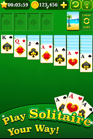Solitaire Mania: Classic скриншот 1