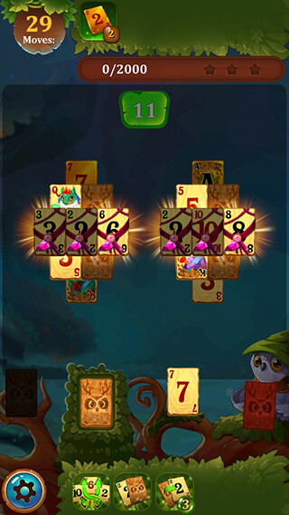 Solitaire Dream Forest: Cards скриншот 3