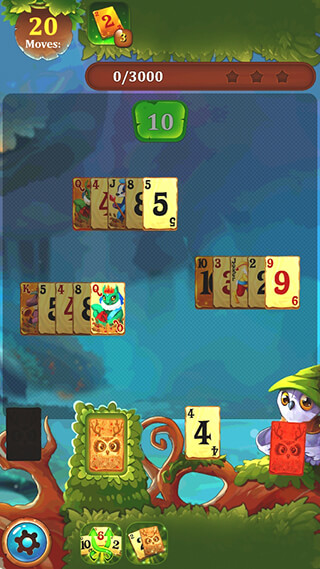 Solitaire Dream Forest: Cards скриншот 4