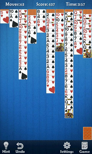 Solitaire Classic скриншот 4