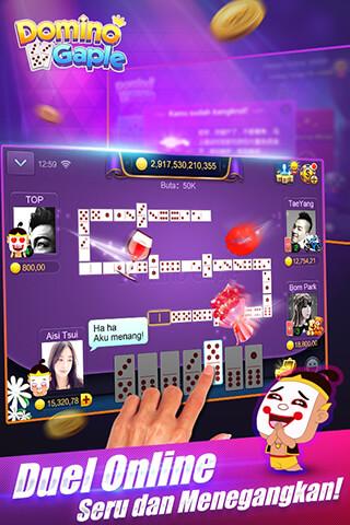 Domino Gaple Online скриншот 1