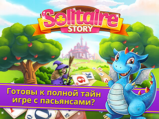 Solitaire Story: Tripeaks скриншот 1