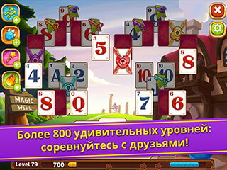 Solitaire Story: Tripeaks скриншот 3