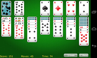 Solitaire Classic скриншот 2