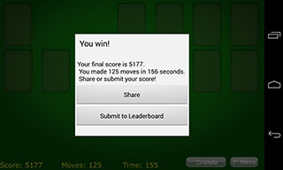 Solitaire Classic скриншот 3