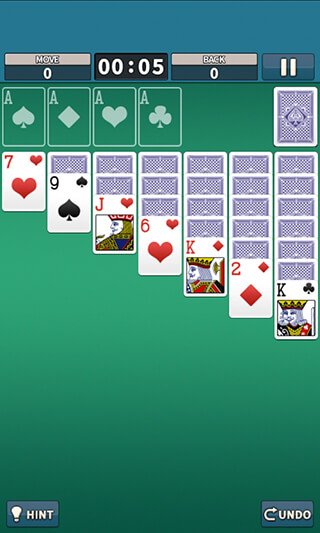 Solitaire King скриншот 1