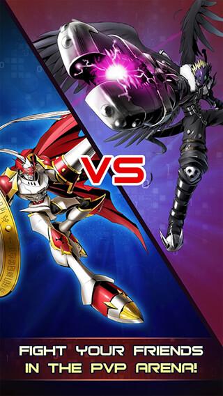 Digimon: Heroes скриншот 1