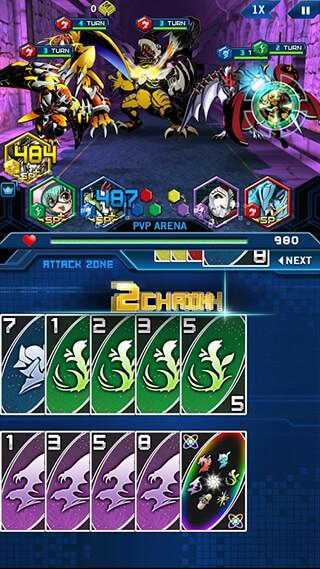 Digimon: Heroes скриншот 2