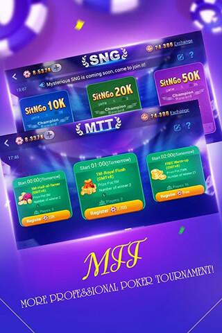 Boyaa Texas Poker скриншот 3