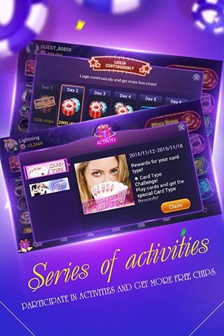 Boyaa Texas Poker скриншот 4