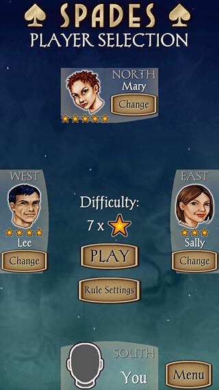 Spades: Free скриншот 1