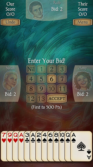 Spades: Free скриншот 3